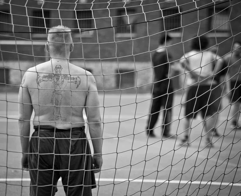 Sport im Gefängnis Ansgar Dlugos Fotografie