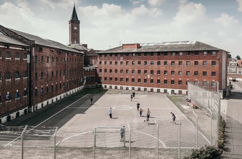 Gefängnis Hof Münster Ansgar Dlugos Fotografie