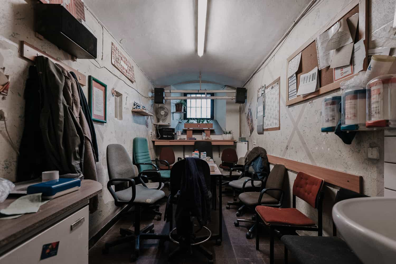 Pausenraum Gefängnis Münster Ansgar Dlugos