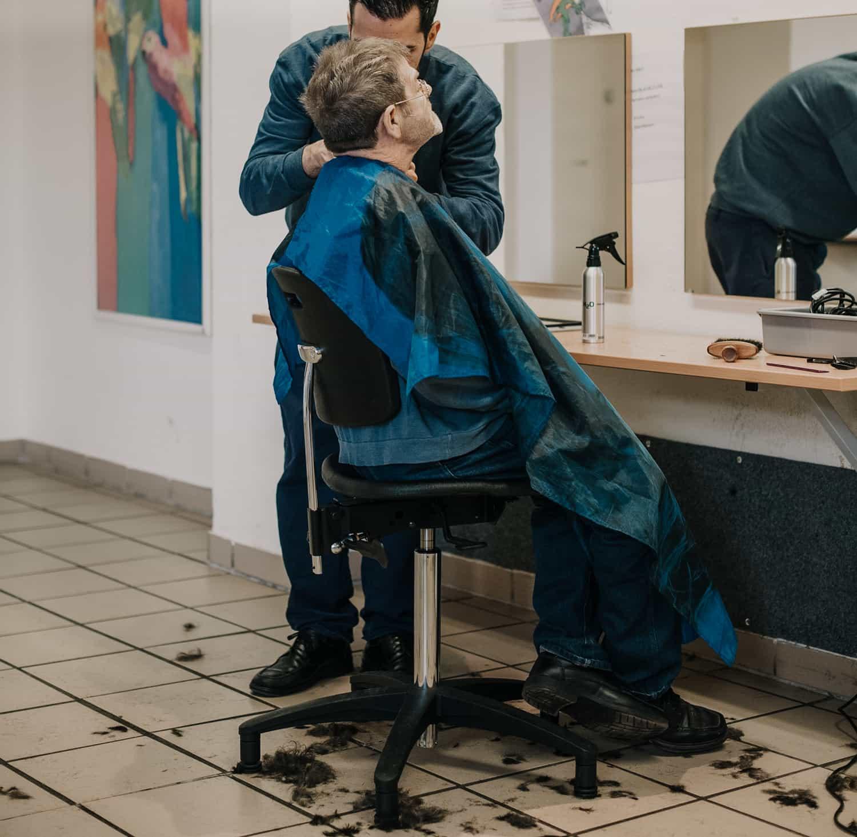 Friseur im Gefängnis Münster Ansgar Dlugos