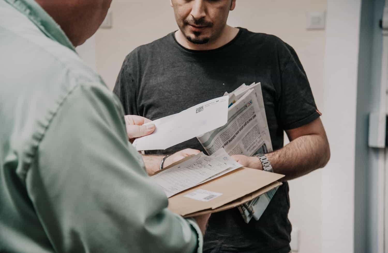 Post im Gefängnis Münster Ansgar Dlugos