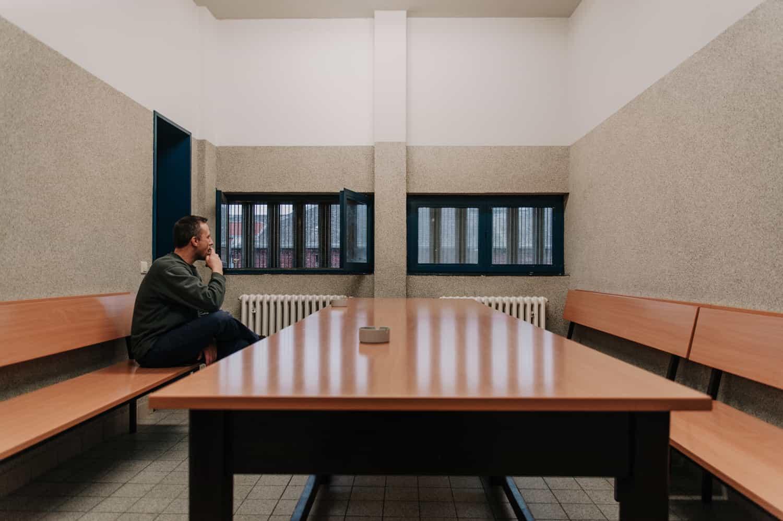 Einsamkeit im Gefängnis Münster