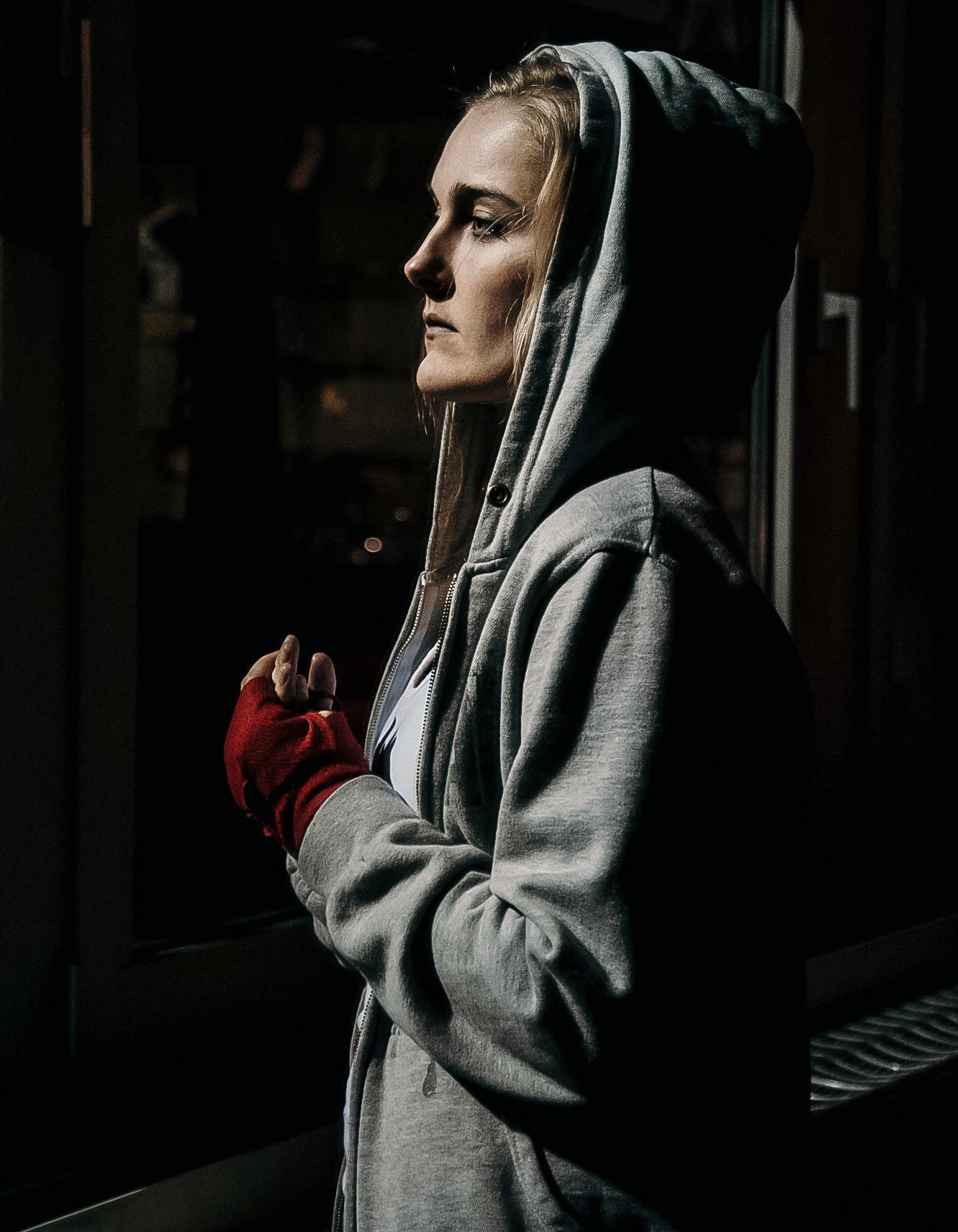 Ansgar Dlugos Fotografie Kickboxerin